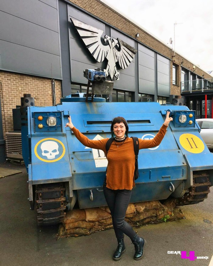 Gear4Geeks at Games Workshop HQ