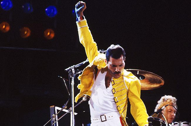 Freddie Mercury of Queen