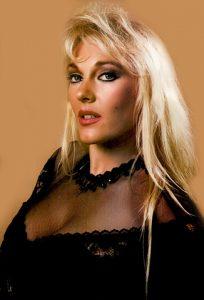 Jeanie Clarke as Lady Blossom in WCW
