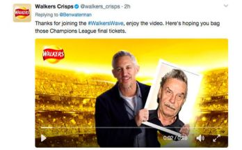 Walkers Crisps Selfie Promotion