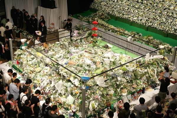 Risultati immagini per Misawa funeral