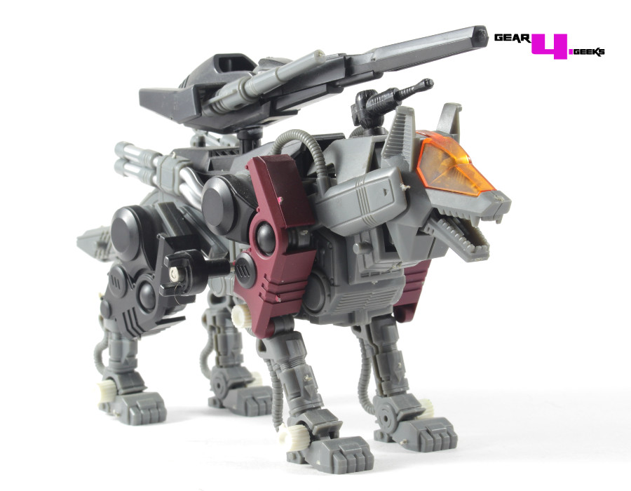 Zoids Command Wolf Irvine Gallery and Review (Zoids 1999)