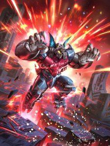 Power of the Primes artwork Bomb Burst
