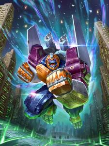 Power of the Primes artwork Optimal Optimus