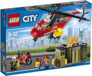 Lego City Fire Rescue Unit 10108