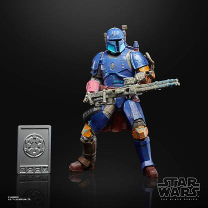 Star Wars The Mandalorian Credit Collection Heavy Infantry Mandalorian 15 cm Action Figure image