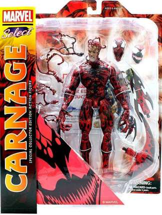 Marvel Select Carnage Action Figure image