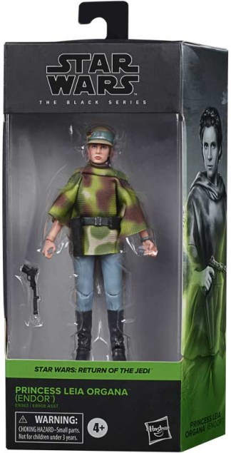"Star Wars The Black Series Princess Leia Return of the Jedi 6"" Action Figure"