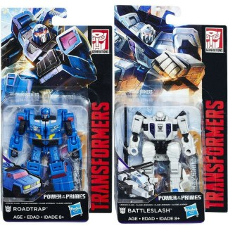 Transformers Power of the Primes Battleslash & Roadtrap