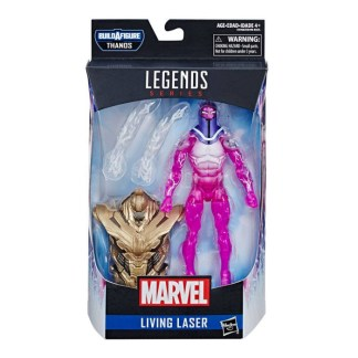 Marvel Legends Living Laser Action Figure with Thanos BAF Part