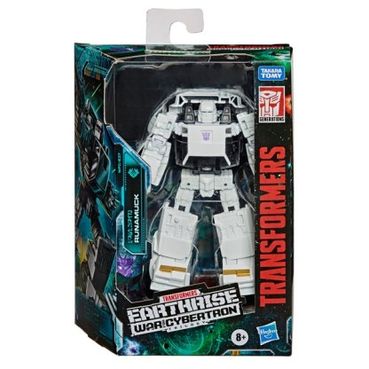 Transformers Generations War for Cybertron Earthrise Runamuck Deluxe Action Figure