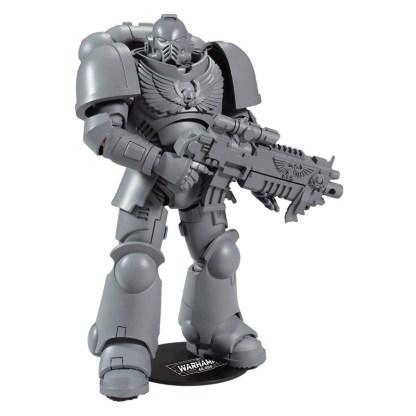 "McFarlane - Warhammer 40,000 - Space Marine Primaris Intercessor Artist Proof 7"" Action Figure"