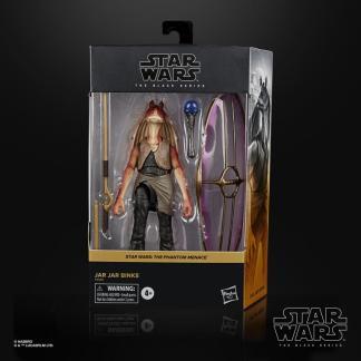 """Star Wars The Black Series 6"""" Deluxe Jar Jar Binks Action Figure"""