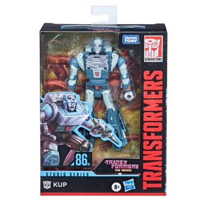 Transformers Studio Series Deluxe Class 1986 Kup Action Figure