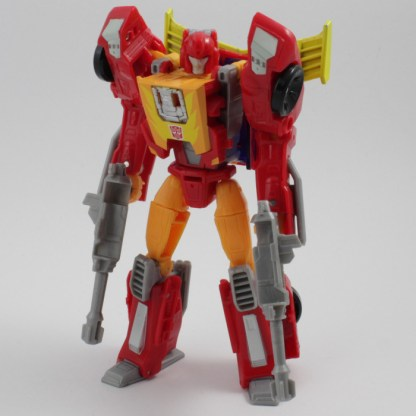 Transformers Titans Return Hot Rodimus complete PREOWNED