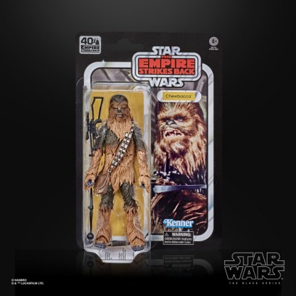 """Star Wars 40th Anniversary Chewbacca 6"""" Action Figure Toy"""