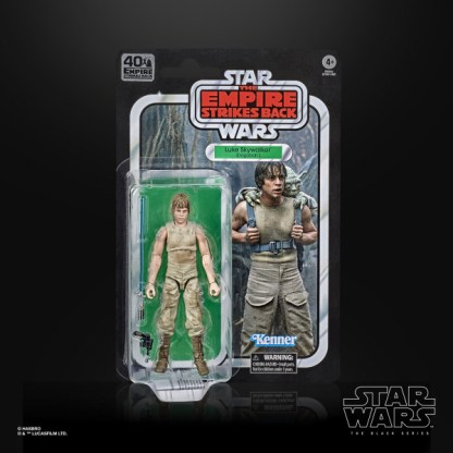 "Star Wars 40th Anniversary Luke Skywalker Dagobah 6"" Action Figure Toy"