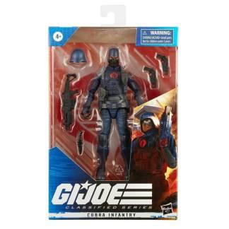 G.I. Joe Classified Series 6-Inch Cobra Infantry Trooper Action Figure Toy
