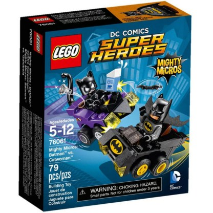 LEGO DC Super Heroes Mighty Micros: Batman vs Catwoman 76061