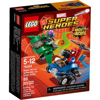 LEGO Mighty Micros: Spider-Man vs. Green Goblin 76064