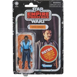 Star Wars Retro Collection Lando Calrissian Toy 3.75-inch Empire Strikes Back Figure