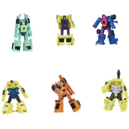 Transformers War for Cybertron Galactic Odyssey Collection Micromasters 6-Pack