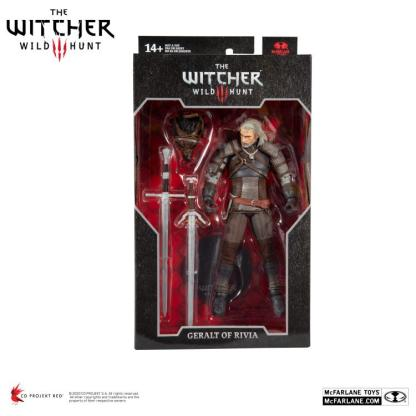 The Witcher 3: Wild Hunt Geralt of Rivia Action Figure
