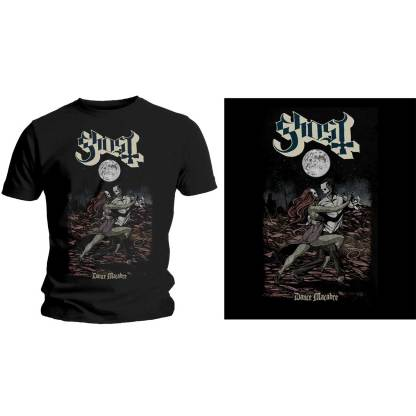 Ghost T-Shirt Dance Macabre Front Print