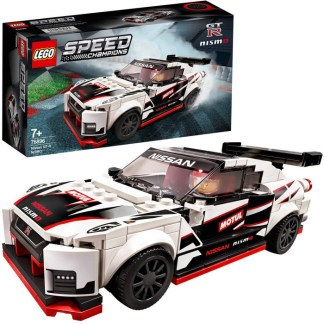 LEGO 76896 Speed Champions Nissan GT-R NISMO Racer Building Set Toy