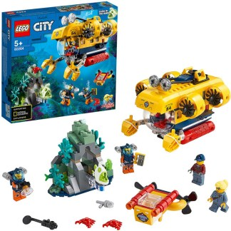 LEGO 60264 City Oceans Exploration Submarine Deep Sea Underwater Building Set