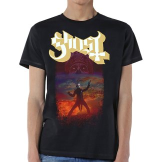 Ghost T-Shirt EU 2019 Pale Tour Named Death