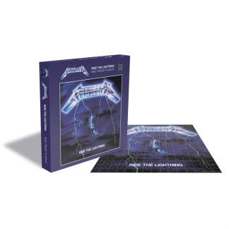 Metallica Ride The Lightning Official 500 piece Jigsaw Puzzle