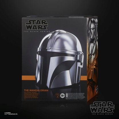 Star Wars The Black Series The Mandalorian Premium Electronic Helmet Toy