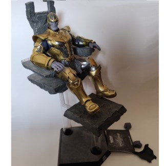 Hot Toys Guardians of the Galaxy Thanos with Throne READ DESCRIPTION PREOWNED