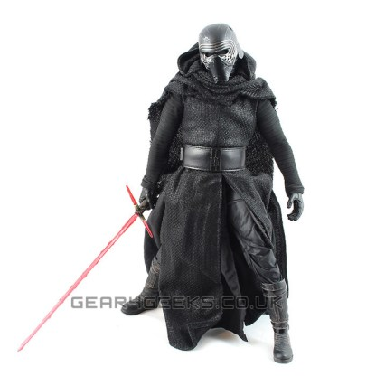 Hot Toys Star Wars The Force Awakens Kylo Ren Action Figure PREOWNED
