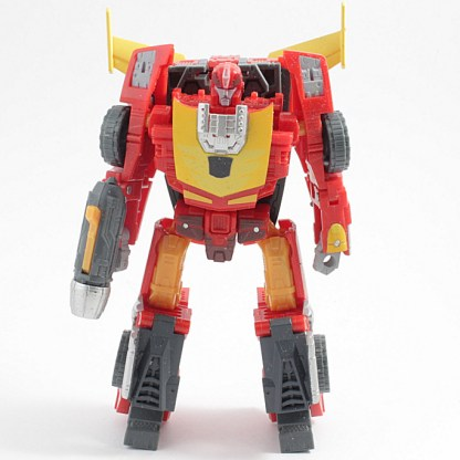 Transformers Reveal the Shield Hot Rodimus Action Figure Incomplete PREOWNED