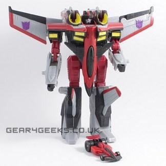 Transformers Armada Starscream Incomplete PREOWNED