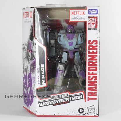 Transformers War For Cybertron Siege Netflix Decepticon Mirage PREOWNED