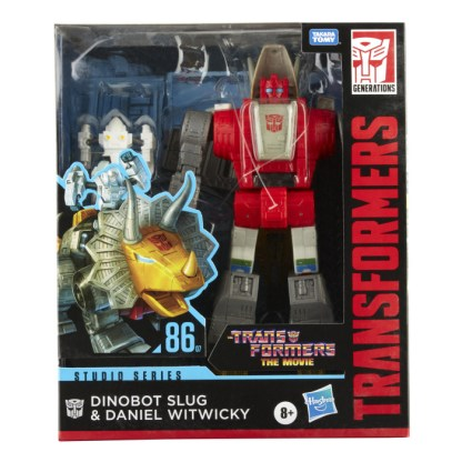Transformers Studio Series 86 Leader Class Action Figure Dinobot Slug and Daniel Witwicky