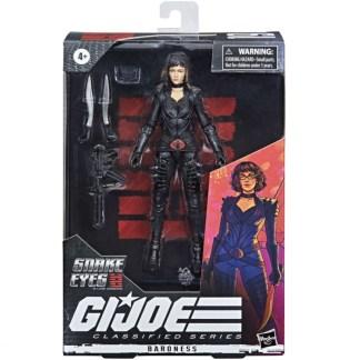 GI Joe Classified Snake Eyes Movie Baroness Action Figure Toy