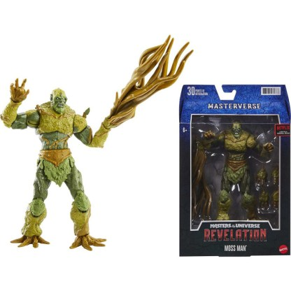 Masters of the Universe Masterverse Revelation Moss Man Action Figure Toy