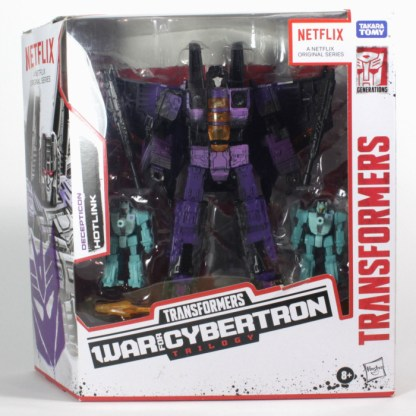Transformers War For Cybertron Siege Netflix Hotlink Action Figure PREOWNED