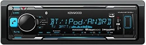 Kenwood KMMBT315U review