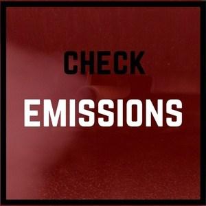 Check emissions levels.