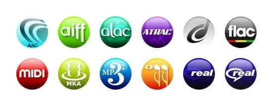 Music media file types