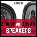 2 Way vs 3way speakers