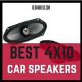 Best 4X10 car speakers