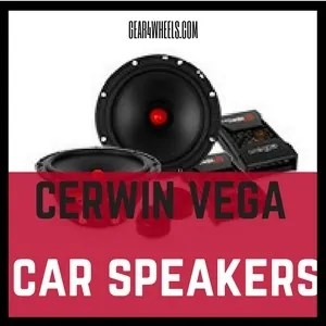 Cerwin vega car speakers