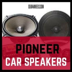 pioneer car Speakers review
