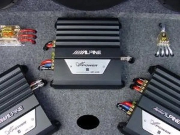 Monoblock Amplifier Car